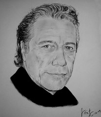 Actor and director Edward James Olmos (fitzjim) Tags: california portrait art closeup movie star losangeles tv intense artist skin drawing rollerderby mexican american charcoal latin movies actor latino dexter director selena miamivice battlestargalactica 12angrymen thewestwing edwardjamesolmos standanddeliver walkout rolemodel csiny hillstreetblues georgelopez thetakingofpelhamonetwothree thegreenhornet jimfitzpatrick theburningseason americanme beverlyhillschihuahua sfbaybombers ltmartincastillo myfamilymifamilia thedisappearanceofgarcialorca thewonderfulicecreamsuit americanfamilyjourneyofdreams mexicancitizenship academyawardforbestactorinaleadingrole