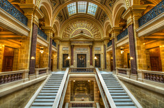 The Senate (matt_frankel) Tags: wedding building architecture high nikon dynamic state room sigma capitol madison 1020mm range hdr senate wisconson d90