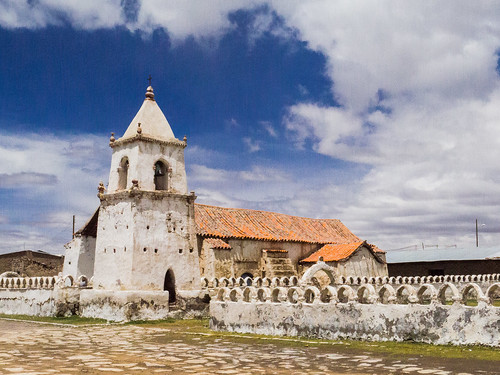 Isluga church - Salar de Surire