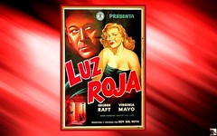 George  RAFT  &  Virginia  MAYO  in  RED  LIGHT [1949, United Artists] Director: Roy DEL RUTH (mhdantholz) Tags: