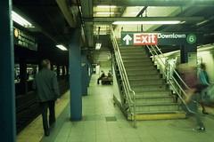 exit (fabio barbato) Tags: leica nyc trip usa newyork film eua viagem ttl m6 2012 novaiorque