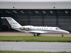 M-NSJS Cessna 525C CitationJet CJ4 (Jersey Airport Photography) Tags: jer jersey cessna citationjet cj4 egjj 525c mnsjs