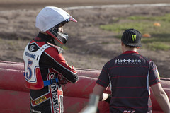 Gary Irving (Richard Amor Allan) Tags: bike mud bikes cycle stokeontrent rider speedway cycles riders motorcyles scunthorpesaints stokepotters loomerroad garyirving