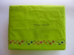 Birthday Pack (ONE by one) Tags: mail pack package enviado