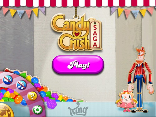 Candy Crush Saga Settings: screenshots, UI