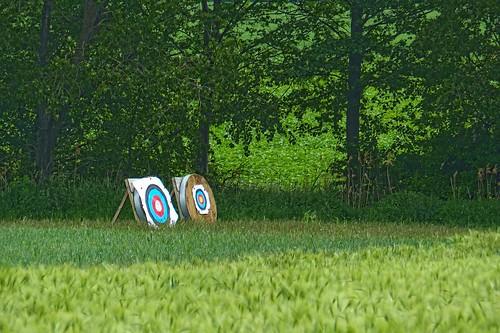 Robin Hood's shooting range?