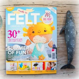 Mi niña cancrejo en la revista