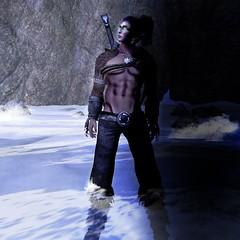 Finale (Grant Kirax) Tags: ocean sky man art water beautiful photoshop photography wolf magic elf secondlife
