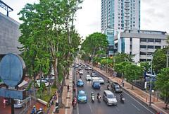 Jalan Pemuda, arah timur (BxHxTxCx (more stuff, open the album)) Tags: surabaya kota city street jalan