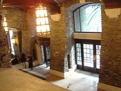 Lobby of Fairmont Banff Springs
