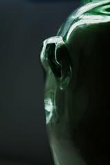 Glass (afortiorama) Tags: light green glass natural estremità