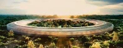 """Apple Unveils New """"Spaceship"""" Corporate Headquarters Design"""