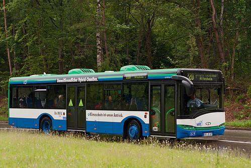 Kaum zu Unterscheiden: Die Hybridversion des Urbino 12 gibt sich unauffällig