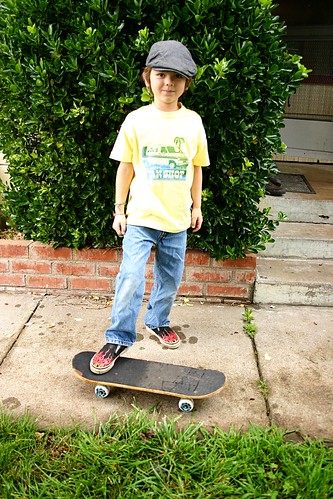 judah and his skateboard