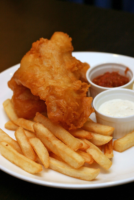 Fish and Chips from Muffet's Froom