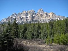 Castle Rock, Near Lake Louise (gripso_banana_prune) Tags: lake canada mountains castle rock rockies rocky louise alberta banff viewpoint
