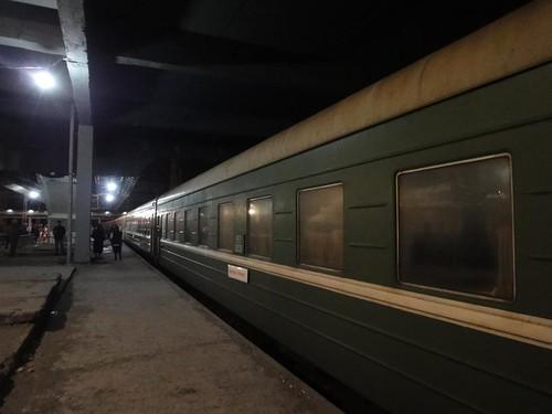 Comboio desde Tbilisi até Zugdidi Geórgia