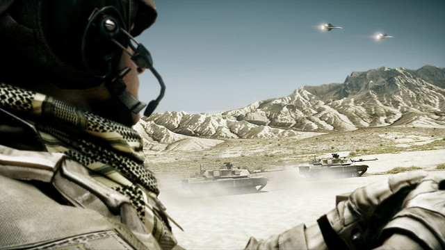 Battlefield 3 - Over the mountains