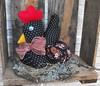 MELL (TELMELITA) Tags: galinha country artesanato botão feltro patchwork tecido trabalhomanual poá