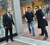 A Simon Cowell look-alike caused quite a stir on Grafton Street today while filming a skit for the Craig Doyle Live Show. Many passersby thought he was the real deal and posed for photos with the faker! Dublin, Ireland