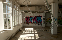 Verticalits pendantes (B.RANZA) Tags: trace histoire waste sanatorium hopital empreinte exil cmc patrimoine urbex disparition abandonedplace mmoire friche centremdicochirurgical