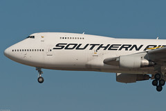 Southern Air Boeing 747-230B (F) N760SA (58151) (Thomas Becker) Tags: cn plane germany airplane geotagged nose deutschland flying airport nikon raw hessen shot frankfurt aircraft aviation air cargo southern 200 atlas boeing gps arrival d200 polar flughafen aviao soo tamron flugzeug 230 lufthansa  aereo 747 spotting fra freighter b747 299 ln 200500 fraport 742 rheinmain 9s aeroplano 200b eddf samolot twitter 21221 aerotagged  aero:series=200 aero:man=boeing aero:model=747 110407 aero:airport=eddf aero:special=f n760sa n509mc aoka aviationphoto 151276 aero:airline=soo 230b geo:lat=50039523 geo:lon=8596970 ak4n dabyk 041276 aero:tail=n760sa