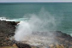 Spouting Horn 7 (Journey of A Thousand Miles) Tags: seascape hawaii kauai 2012 poipubeachpark