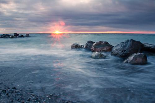Sunset at Tidsvilde