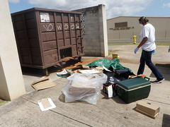 DumpsterDiving069 (usaghawaii) Tags: conservation environment recycling sustainability dumpsterdiving earthmonth directorateofpublicworks usarmygarrisonhawaii