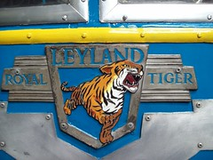 97 Leyland Royal Tiger Badge (robertknight16) Tags: badges leyland leylandtiger