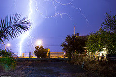 Electric Storm 2 (Pepe.Guzman) Tags: nightphotography storm night canon tormenta lightning rayo rayos lightstorm 550d t2i
