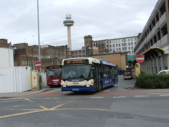 Arriva Merseyside 2061 Scania Omnicity CX05 EOV (simon_n17) Tags: 2061 scaniaomnicity arrivanorthwest cx05eov