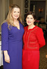 Clara Halpin and Anne Marie Boyhan the Angels Quest Fashion Spring Lunch in association with Arnotts