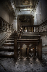 Manor Hotel (andre govia.) Tags: wood urban house never building abandoned stairs buildings hotel photo shot photos decay painted ghost andre explore stop ghosts manor exploration govia