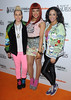 Sack the Stylist Stooshe UK premiere of Nickelodeon TV series 'House of Anubis' at The Freemasons Hall - Arrivals London, England