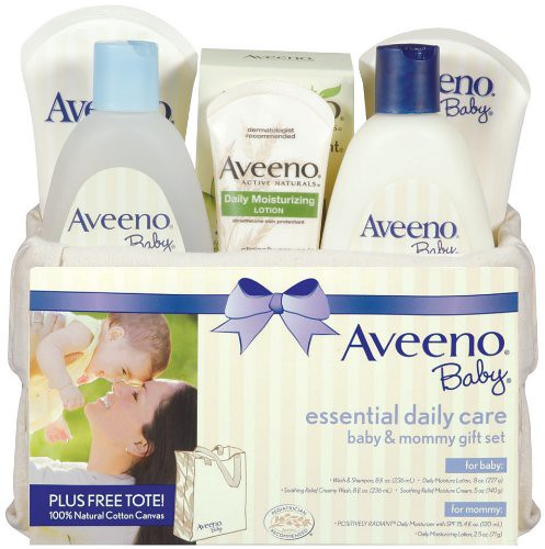 Aveeno Baby Gift Set, Daily Care Basket艾维诺婴儿日常护理六件套礼品篮 $20.4