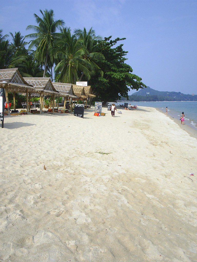 Simple beach affairs, Lamai Beach, Ko Samui, Thailand