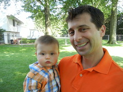 Leo and Sal on Father's Day