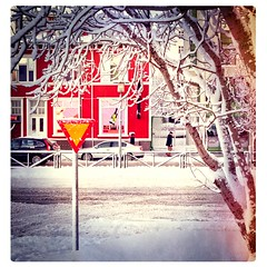 Winter, Reykjavik, Iceland (Ragnar TH) Tags: city winter iceland capital snowstorm reykjavik