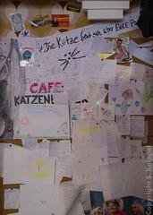 Pinnwand im Katzenberger (Stephan Knippel Photography) Tags: reisen europa mallorca spanien 2012 balearen santaponsa calvi cafekatzenberger