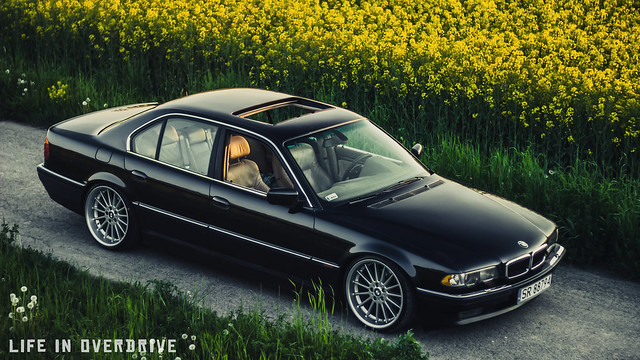 car automotive bmw 740 e38 worldcars 740ia