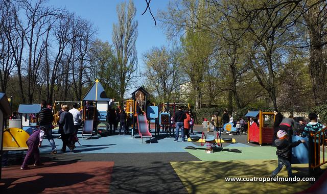 Parque Carol I en Bucarest