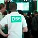 D66 uitslagenavond Europese verkiezingen 2014 in Nijmegen
