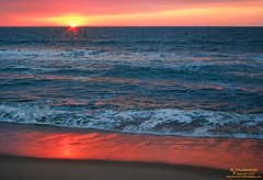 Sunrise in Ocean City, MD (PhotosToArtByMike) Tags: ocean sea seascape beach sunrise seaside md sand surf maryland easternshore oc atlanticocean oceancitymd oceancitymaryland