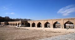 Joie Bridge - sfahan (Sinan Doan) Tags: iran ran isfahan sfahan esfahan bridge kpr joiebridge joiekprs architecture nikon iranian persian  iranphotos