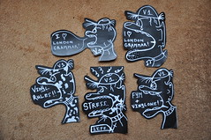 Stickerpack for FYM - Russia (Vinylone AFS + NO trades) Tags: vinylone stickerpackforfymrussia handmade blackheads londongrammarhomeagesticker