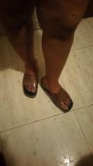 Dark smoke platform jellies. #jellyshoes (ARTHENTIC) Tags: jellyshoes jellies footfetish sexylegs sexyfeet
