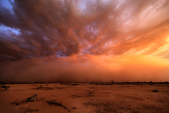 Mars (Mike Olbinski Photography) Tags: 20160927 arizona canon1124mmf4 canon5dsr duststorm haboob monsoon queencreekroad rain sunset thunderstorm