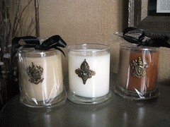My new candles