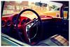 Summertime (peterphotographic) Tags: uk england nikon britain autoshow summertime dashboard d200 impala essex camerabag carshow steeringwheel enfield enfieldpageantofmotoring